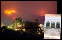 Fires in California, via Vanity Fair