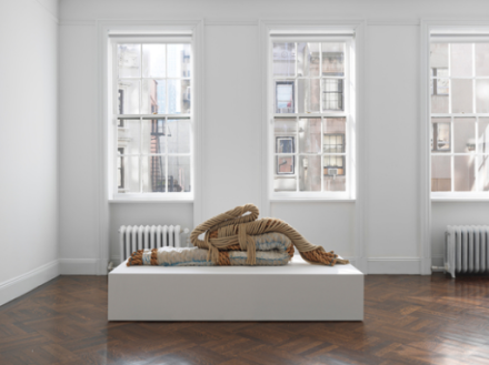Françoise Grossen (Installation View), via Blum & Poe