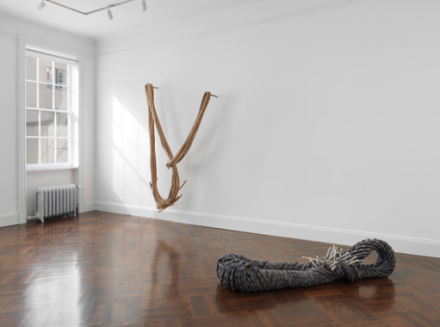 Françoise Grossen (Installation View), via Blum & Poe