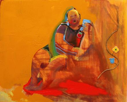 Gina Malek, Ninoojim (I am healing) (2017), via E Tay Gallery