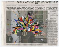 Fred Tomaselli, via Art Newspaper