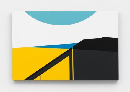 Serge Alain Nitegeka, Colour & Form XLVIII, (2017), via Marianne Boesky