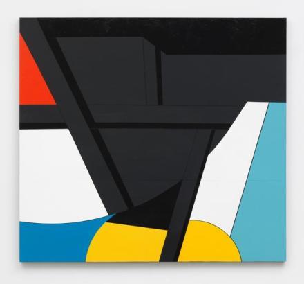 Serge Alain Nitegeka, Colour & Form XLVII, (2017), via Marianne Boesky