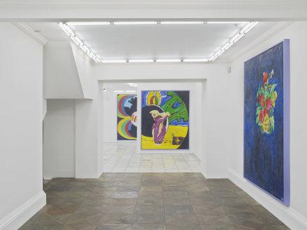 Ida Ekblad, Proper Stuff (Installation View), via Herald St