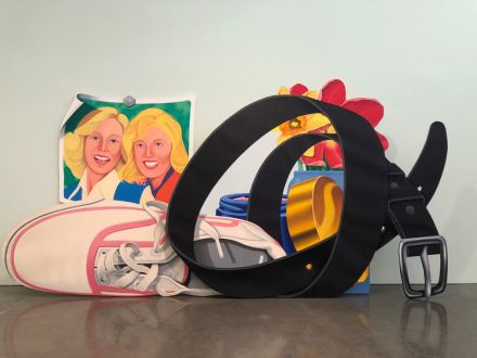 Tom Wesselmann, Still Life with Belt and Sneaker, (1979-81), via Art Observed