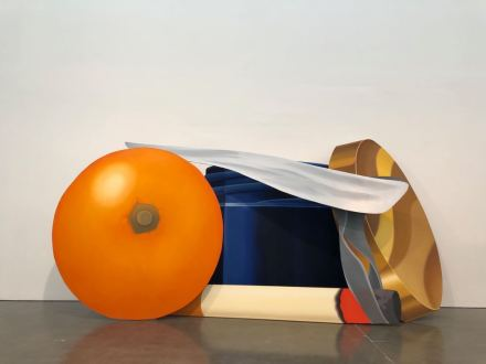 Tom Wesselmann, Still Life with Blue Jar and Smoking Cigarette, (1981), via Art Observed