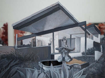 Rachel Feinstein, Neutra Place (2018), via Gagosian Gallery