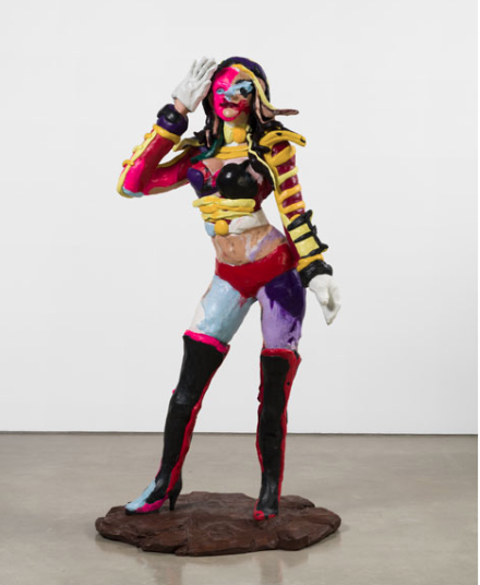 Rachel Feinstein, Bandleader (2018), via Gagosian Gallery