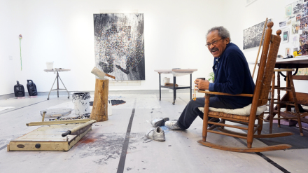 Jack Whitten, via Art News