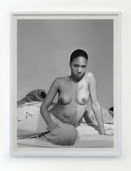 LaToya Ruby Frazier, Self Portrait (Lupus Attack) (2008)