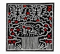 Keith Haring, via Bloomberg
