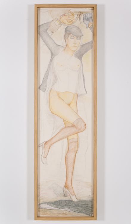 Pierre Klossowski, Roberte aux barres parallèles (1984), Courtesy Gladstone Gallery, New York and Brussels Photography by David Regen