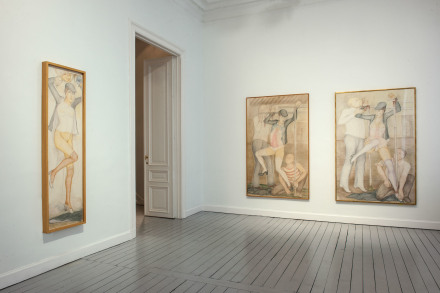 Installation view of Pierre Klossowski at Gladstone Gallery, Brussels Courtesy Gladstone Gallery, New York and Brussels Photography by David Regen