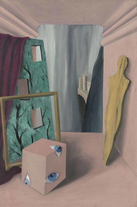 Rene Magritte, Le groupe silencieux (1926), via Christie's