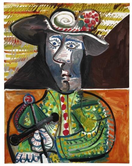 Pablo Picasso, Le Matador (1970), via Sotheby's