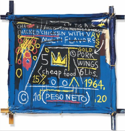Jean-Michel Basquiat, Multiflavors (1982), via Christie's
