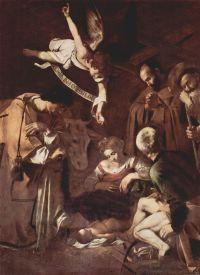 Caravaggio's Nativity, via Art News