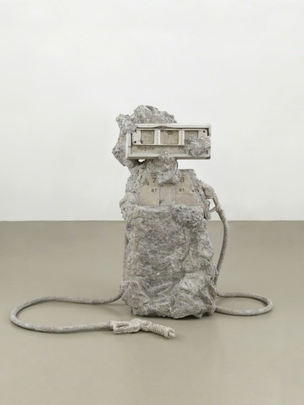 Allora and Calzadilla, 2 hose petrified Petrol Pump (2012), via Lisson Gallery
