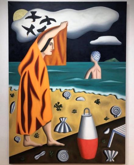 Jonathan Gardner at Casey Kaplan, via Art Observed