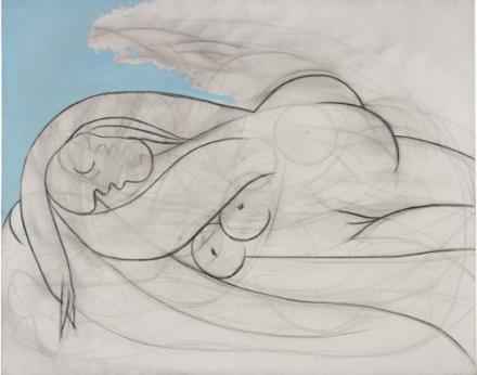 Pablo Picasso, La Dormeuse (1932), via Phillips