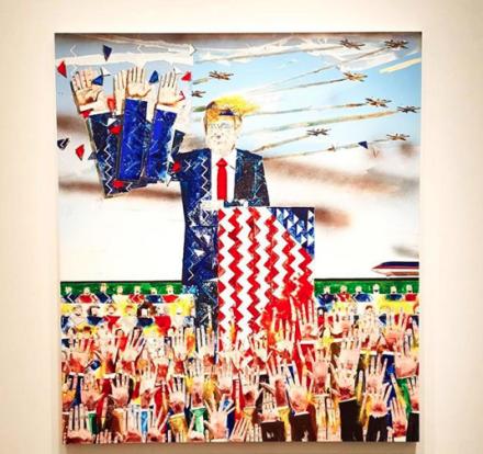 Barnaby Furnas, The Rally (2017-2018), via Art Observed