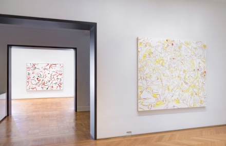Sue Williams, Paintings 1997-98 (Installation View), via Skarstedt
