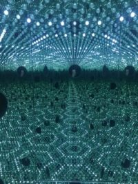 Yayoi Kusama, Longing for Eternity, via Art News
