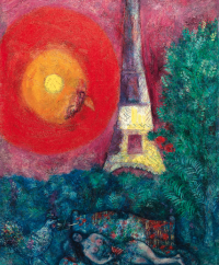 Chagall-La-Tour-Eiffel, via Art Market Monitor