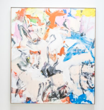 Willem de Kooning at Lévy Gorvy, via Art Basel