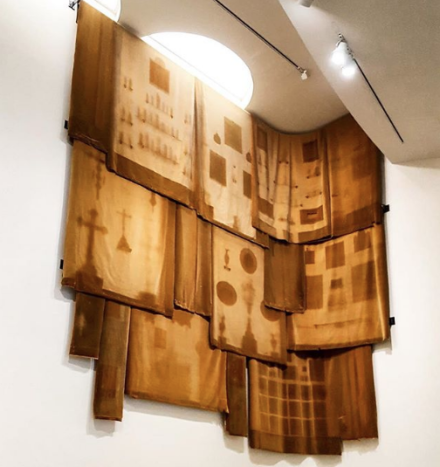 Danh Vo, Take My Breath Away (Installation View), via Art Observed
