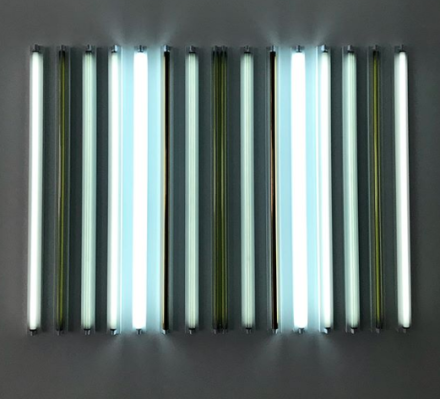 Robert Irwin at Sprüth Magers (Installation View), via Art Observed