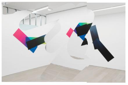 Artie Vierkant, Rooms Greet People By Name (Installation View), via Galerie Perrotin