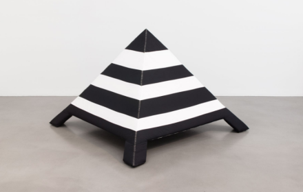 Cosima von Bonin, Installational Elements Pyramid (2018), via Petzel