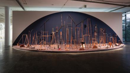 Ana Mazzei, Espetáculo (2016,) via Galeria Jaqueline Martins