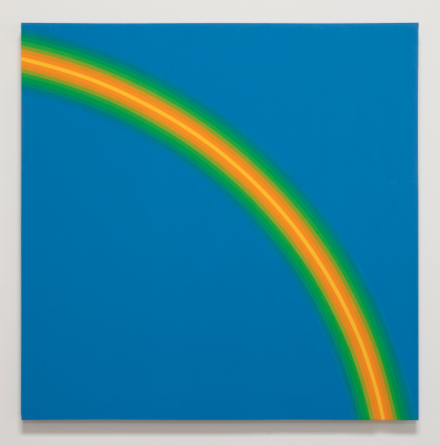 David Simpson, Blue to Yellow Air (1967), via Haines Gallery