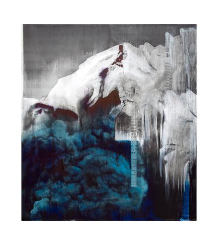 Lorna Simpson, Ice 3 (2018), via Hauser & Wirth