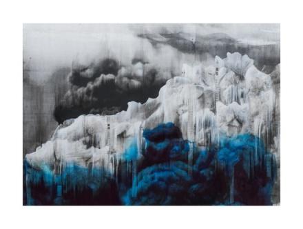 Lorna Simpson, Ice 4 (2018), via Hauser & Wirth