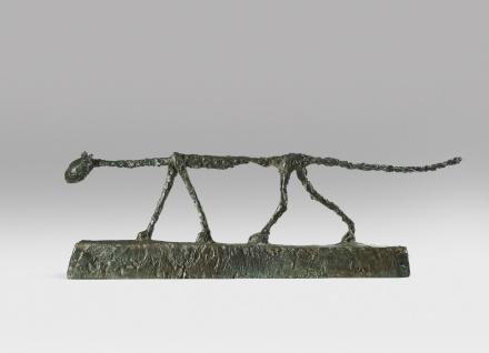 Alberto Giacometti, Le Chat (1955), via Sotheby's