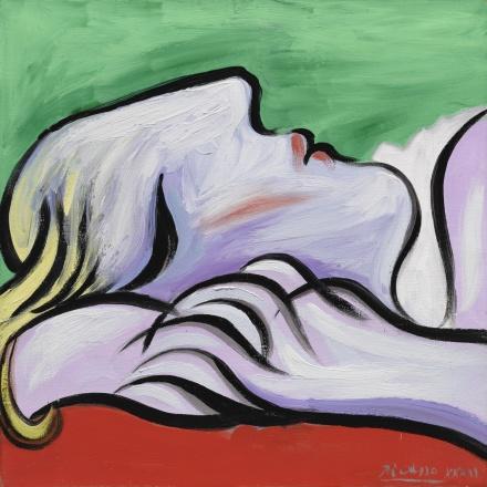 Pablo Picasso, Le Repos (1932), via Sotheby's