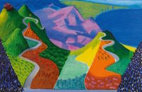 David Hockney, via Art News