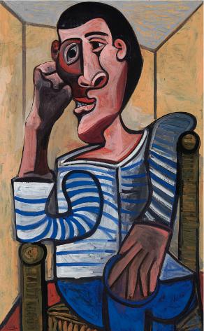 Pablo Picasso, Le Marin (1943), via Christie's