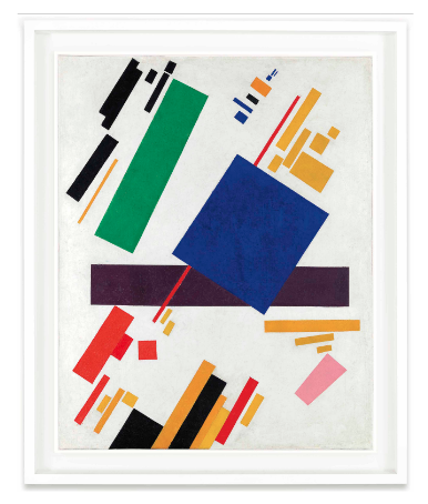 Kazimir Malevich, Suprematist Composition (1916), via Christie's