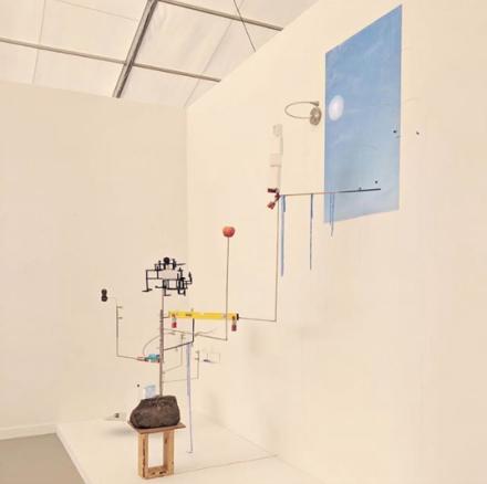 Sarah Sze at Victoria Miro, via Art Observed