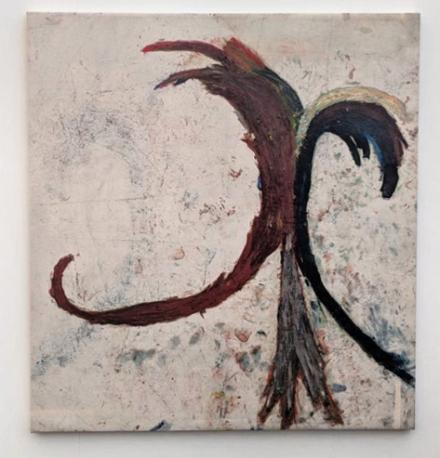 Dan Asher at Martos Gallery, via Art Observed