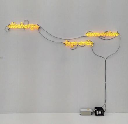 Joseph Kosuth at Sprueth Magers, via Art Observed