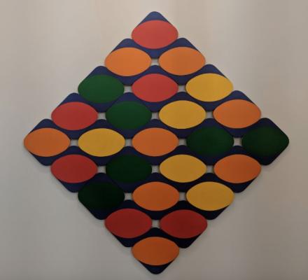 Leon Polk at Lisson Gallery, via Art Observed