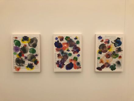 Tim Rollins and KOS at Maureen Paley, via Art Observed