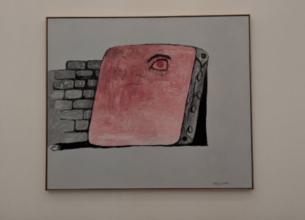 Philip Guston at Hauser and Wirth, via Art Observed