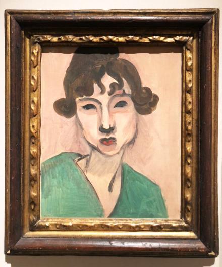 Henri Matisse at Thomas Gilson, via Art Observed