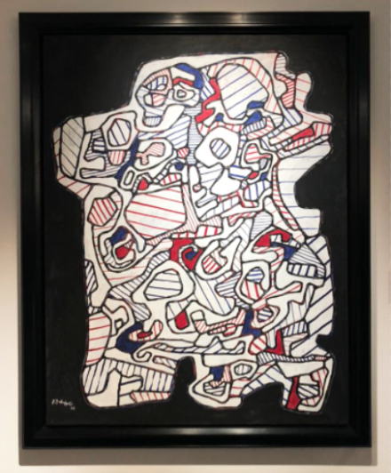 Jean Dubuffet at Applicat-Prazan, via Art Observed